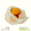 A Slice Of Green Organic Cotton Mesh Produce Bag Large (34X38Cm)