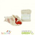 A Slice Of Green Organic Cotton Mesh Produce Bag Small (18X22Cm)