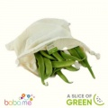 A Slice Of Green Organic Cotton Produce Bag Medium (26X32Cm)
