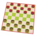 Bigjigs Ladybird and Bee Draughts