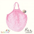 Baby Pink String Reusable Shopping Bag