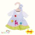 Bigjigs Blue Spotted Dress with Deer Small