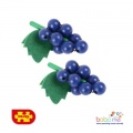 Bigjigs Bunch of Grapes Wooden Play Food