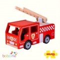 Bigjigs City Fire Engine Toy