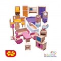 Bigjigs Doll Furniture Set