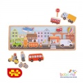 Bigjigs Magnetic Board City