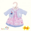 Bigjigs Polar Bear Pink Dress Medium
