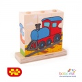 Bigjigs Stacking Blocks - Transport