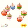 Bigjigs Wooden Spinning Tops