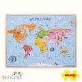 Bigjigs World Map Puzzles