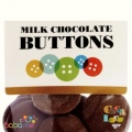 Cocoa Loco Organic Milk Chocolate Buttons 100g