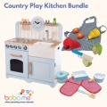 Country Play Kitchen Bundle