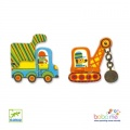 Djeco Articulo Vehicles Educational games - Puzzle duo