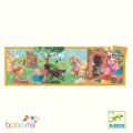 Djeco The 3 little pigs - 24 pieces Silhouette puzzles