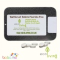 Eco Living Toothpaste Tablets Fluoride-Free Tin
