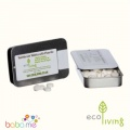Eco Living Toothpaste Tablets Fluoride Tin