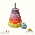 Grimms Large Pastel Conical Tower