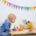 Grimms Pastel Bunting Banner