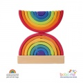 Grimms Stacking Tower Rainbow