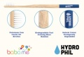 Hydrophil Bamboo Toothbrush For Kids In Blue