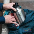 Klean Kanteen Chug Cap Wide Bottle Black