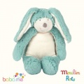 Moulin Roty La Bande a Basile Blue rabbit doll