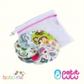 Petit Lulu Reusable Cotton Pads with laundry bag
