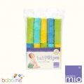 Bambino Mio Reusable Baby Wipes Lime 10 Pack