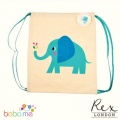 Rex London Elvis The Elephant Drawstring Bag