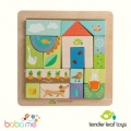 Tender Leaf Toys Garden Patch Puzzle