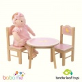 Tender Leaf Toys Sweetiepie Dolls Table & Chairs