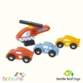 Tender Leaf Blue Bird Service Station Toy Garage