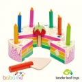 Tender Leaf Rainbow Birthday Cake