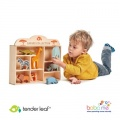 Tender Leaf Toys 8 Safari Animal Shelf Set