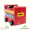 Tender Leaf Toys London Bus Money Box