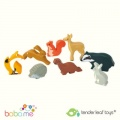Tender Leaf Toys 8 Woodland Animals Shelf Set