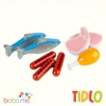 Tidlo Wooden Meat & Fish