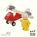 Plan Toys Turboprop Airplane With Pilot