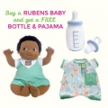 Rubens Baby Nils with FREE Bottle & Pajama Set