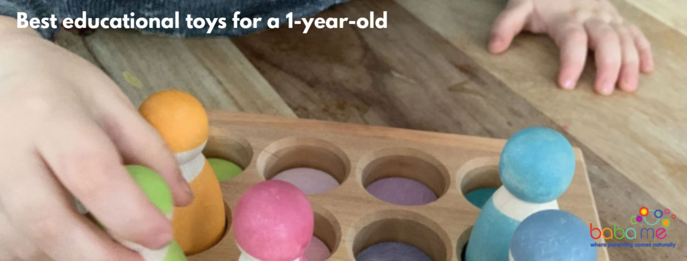 Best educational toys for a 1-year-old
