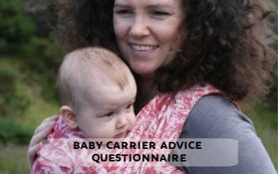 baby carrier advice form