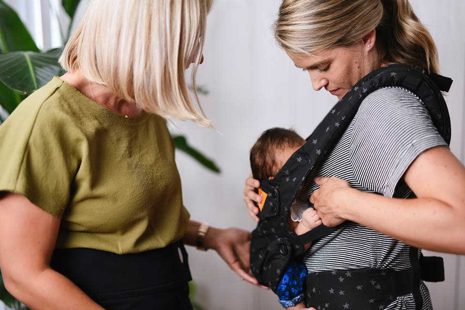 What baby carrier is best for breastfeeding?