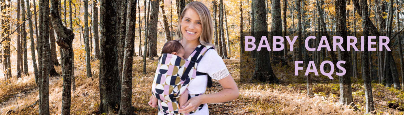 baby carrier faqs