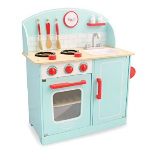 Wooden Play Kitchens & Play Food
