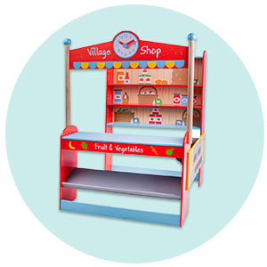 Wooden Play Shop