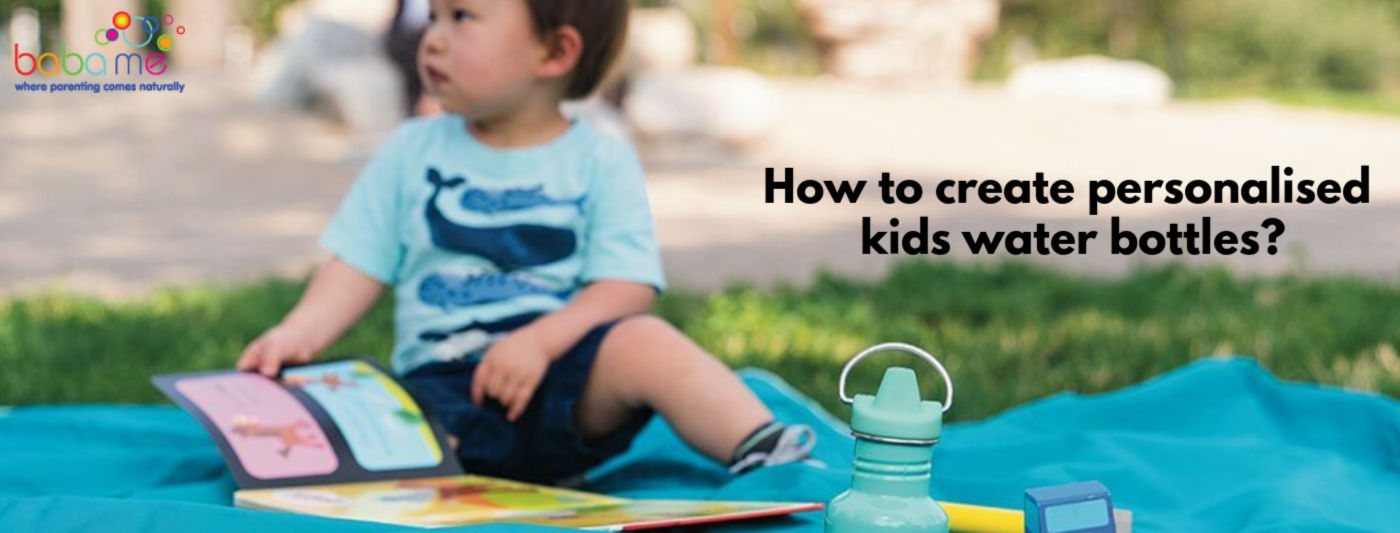 How to create personalised kids water bottles.