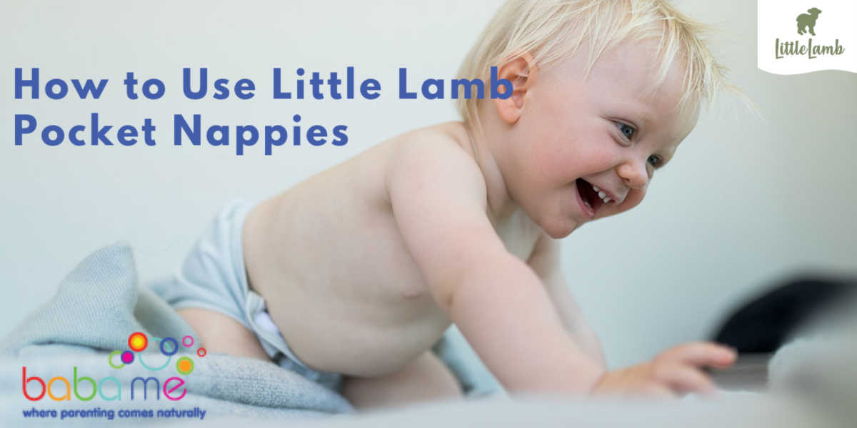How to Use Little Lamb Pocket Nappies
