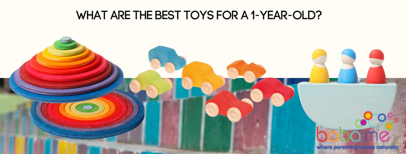 What are the best toys for a 1-year-old?