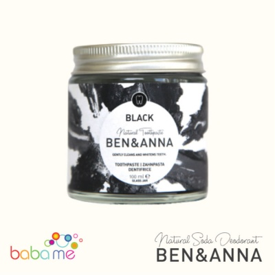 Ben & Anna Plastic Free Toothpaste Black With Activated Charcoal