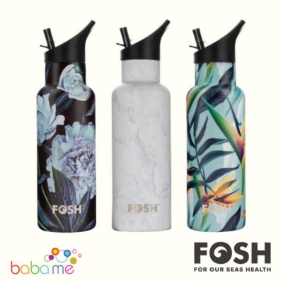 FOSH Flip Water Bottle PRINTS